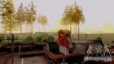 Caligraphic ENB v1.0 для GTA San Andreas пятый скриншот
