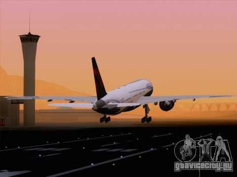 Boeing 777-200ER Delta Air Lines для GTA San Andreas салон