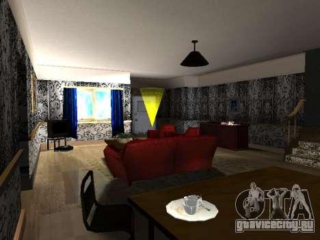 Новый интерьер 2-ух этажного дома CJ для GTA San Andreas четвёртый скриншот