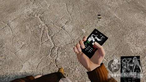 Темы для телефона Goth Rock для GTA 4 восьмой скриншот