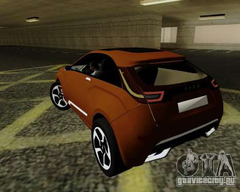 Lada X-RAY для GTA San Andreas вид слева