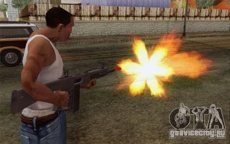 Дробовик AA-12 для GTA San Andreas третий скриншот