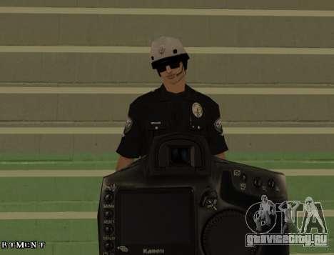 Los Angeles Air Support Division Pilot для GTA San Andreas пятый скриншот