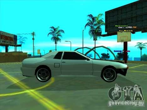Drift Elegy by zhenya2003 для GTA San Andreas вид слева
