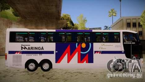 Busscar Jum Buss 400 P Volvo для GTA San Andreas вид сзади слева