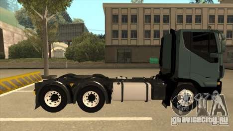 Iveco Hi-Land для GTA San Andreas вид сзади слева