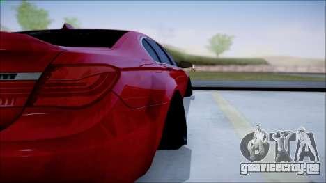 BMW 750 Li Vip Style для GTA San Andreas вид справа