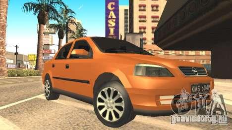 Opel Astra 1.6 TDi SEDAN для GTA San Andreas