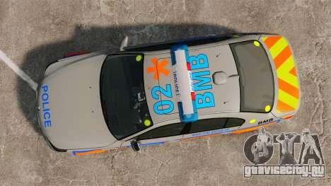BMW M5 E60 Metropolitan Police 2006 ARV [ELS] для GTA 4 вид справа