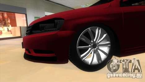 Volkswagen Passat B7 2012 для GTA Vice City вид справа