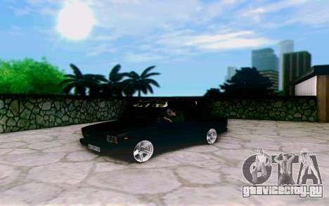 ВАЗ 2107 Riva для GTA San Andreas вид сзади слева