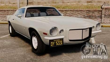 Chevrolet Camaro Z28 1970 для GTA 4
