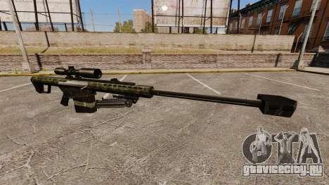 Снайперская винтовка Barrett M82 v7 для GTA 4