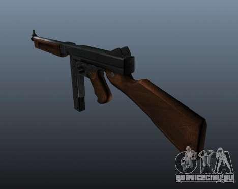 Пистолет-пулемёт Томпсона М1А1 v2 для GTA 4 второй скриншот