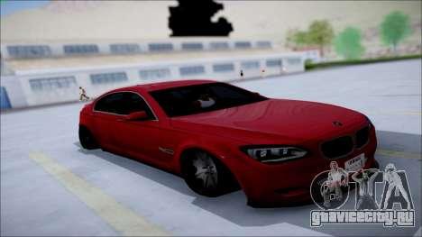 BMW 750 Li Vip Style для GTA San Andreas вид изнутри