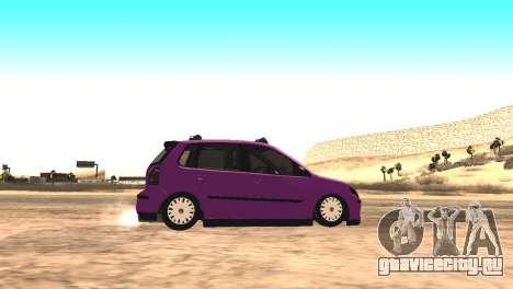 Volkswagen German Polo для GTA San Andreas вид слева