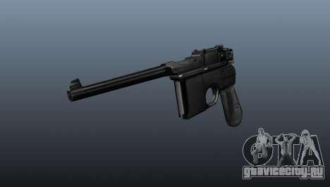 Пистолет Маузер v2 для GTA 4
