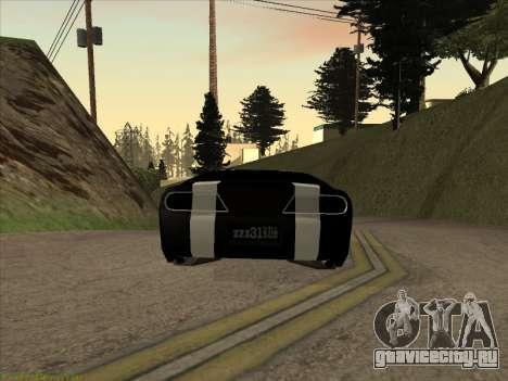 New Jester для GTA San Andreas вид слева