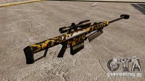 Снайперская винтовка Barrett M82 v11 для GTA 4 второй скриншот