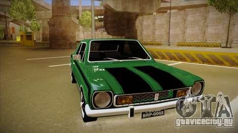 Ford Corcel GT 1975 для GTA San Andreas вид слева