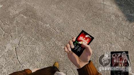 Темы для телефона брендов напитков для GTA 4