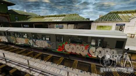 Новые граффити для Subway v2 для GTA 4 второй скриншот