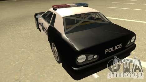 Elegy Police для GTA San Andreas вид сзади