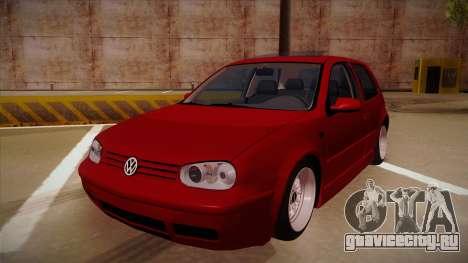 Volkswagen Golf Mk4 Euro для GTA San Andreas