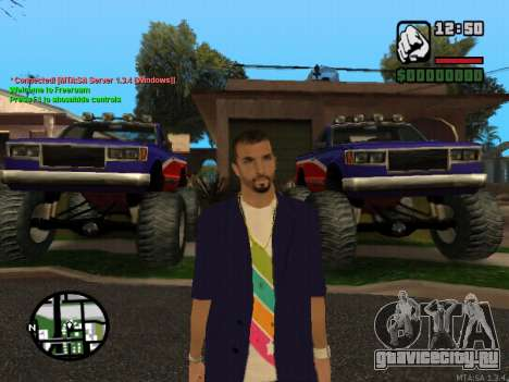 New Andre для GTA San Andreas