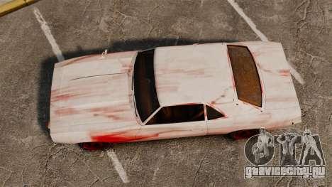 Новые раскраски для ржавого Vigero для GTA 4 вид справа