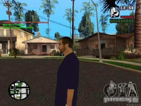 New Andre для GTA San Andreas четвёртый скриншот