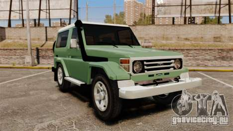 Toyota Land Cruiser 76 2005 для GTA 4