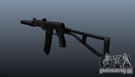 Автомат СР-3М Вихрь v3 для GTA 4 второй скриншот