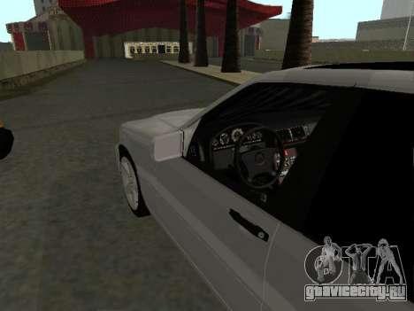 Mercedes-Benz W140 S600 для GTA San Andreas вид справа