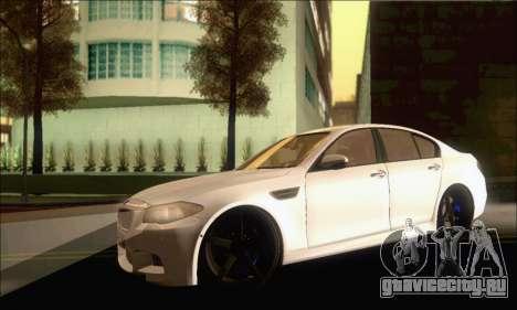 BMW M5 Vossen для GTA San Andreas вид слева