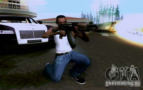 АК-47 для GTA San Andreas четвёртый скриншот
