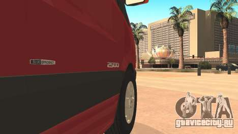 Mercedes-Benz Sprinter для GTA San Andreas вид слева