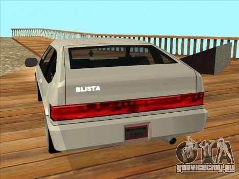 Blista Compact для GTA San Andreas вид слева