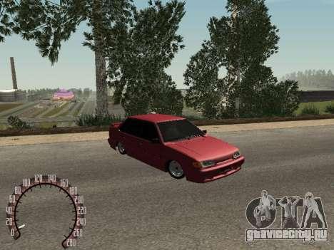 ВАЗ 2115 БПАN для GTA San Andreas вид слева
