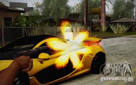 USP45 с глушителем для GTA San Andreas третий скриншот