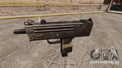 Пистолет-пулемёт Ingram MAC-10 для GTA 4 третий скриншот