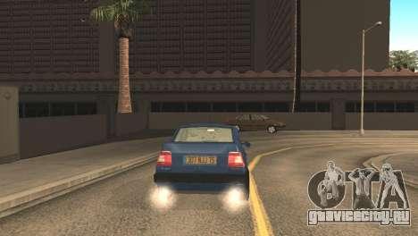 Fiat Tempra 1990 для GTA San Andreas вид сзади слева