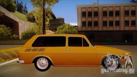VW Variant 1972 для GTA San Andreas вид сзади слева