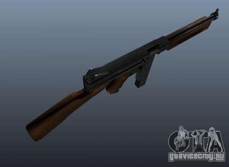 Пистолет-пулемёт Томпсона М1А1 v2 для GTA 4 третий скриншот