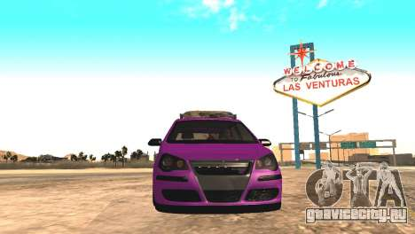 Volkswagen German Polo для GTA San Andreas вид сзади