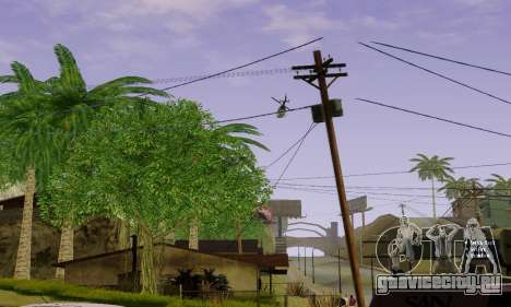 ENBSeries for Medium PC для GTA San Andreas четвёртый скриншот