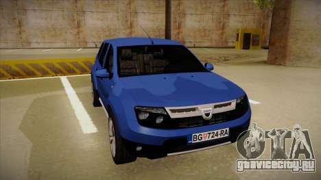 Dacia Duster SUV 4x4 для GTA San Andreas вид слева