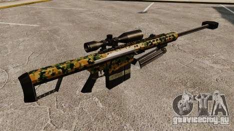 Снайперская винтовка Barrett M82 v13 для GTA 4 второй скриншот