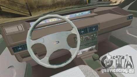 Fiat Tempra SX.A для GTA 4 вид изнутри