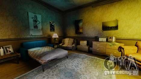 Новые текстуры в первой квартире Романа для GTA 4